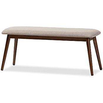 Etonnant Baxton Studio Juliette Mid Century Modern Dining Bench, Medium, French Oak