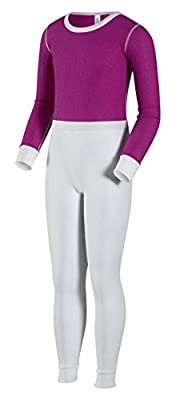 Indera Girls Traditional Thermal Underwear Shirt and Pant Set