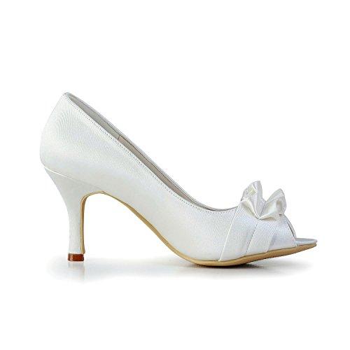 pour femme 8cm beige Minitoo Ivory Sandales Heel EUWqHEx5wn