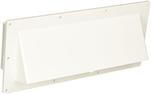 Ventline (V2111-13) Polar White Horizontal Exterior Wall Vent (Part Vent)
