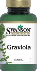 Graviola 600 mg 60 Caps par Swanson Premium