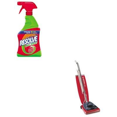 KITEUKSC684FRAC00230EA - Value Kit - Reckitt Benckiser Spray N' Wash Stain Remover (RAC00230EA) and Commercial Vacuum Cleaner, 16quot; (EUKSC684F) by Reckitt Benckiser