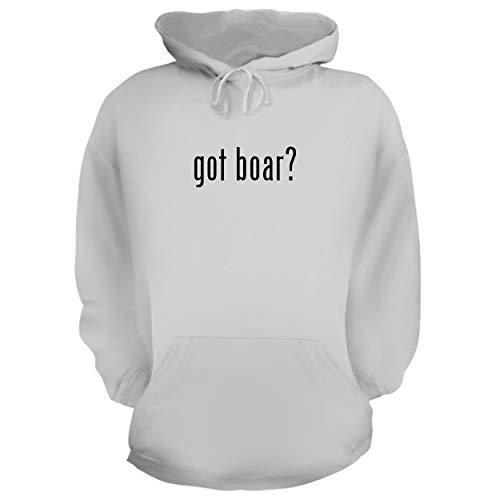 - BH Cool Designs got Boar? - Graphic Hoodie Sweatshirt, White, XX-Large
