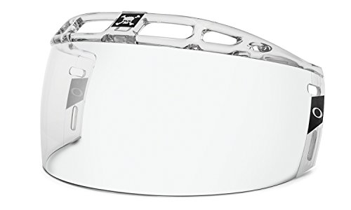 Oakley Straight Certified Cut Hockey Visor, Clear, One Size