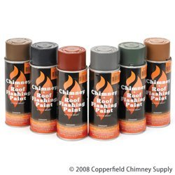 Roof Terra Steel Cotta (Chimney Forrest Paint Co. 1A464E305 Terra Cotta Steel Roof And Flashing Paint)