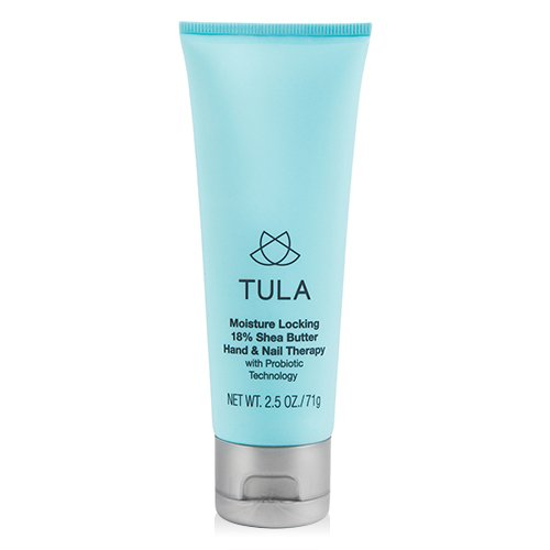 TULA Skin Care Hand & Nail Therapy with Probiotic Technology, 2.5 oz. - Anti-Aging and Moisture-Locking with 18% Shea Butter and Jojoba