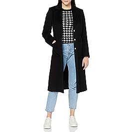 HUGO Women's Mesua Wool Blend Coat