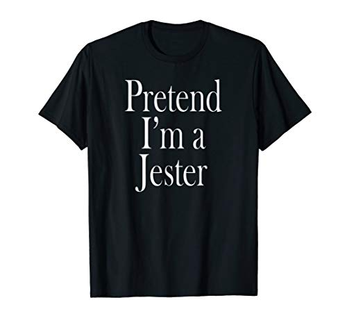 Jester Costume T-Shirt for the Last Minute Party -