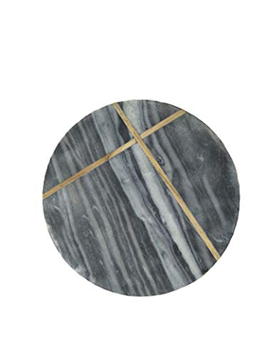 Round Shape Gray Marble Chopping Board