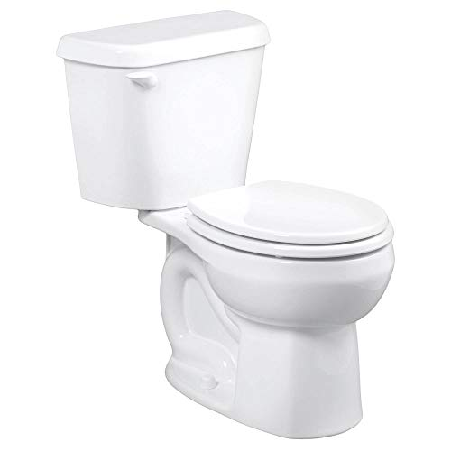 American Standard 221DB104.020 Colony 1.28 GPF 2-Piece Round Front Toilet with 10-In Rough-In, White