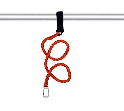YYST Orange Paddle Leash Paddle Holder Tool Lanyard - No Paddle