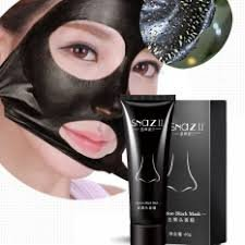 MY LITTLE BEAUTY Suction Black Musk Blackhead Remover Tearing Style Deep Cleansing Purifying Peel Off the Black Head Acne Treatment Black Mud Face Mask - Cheap Masks For Sale
