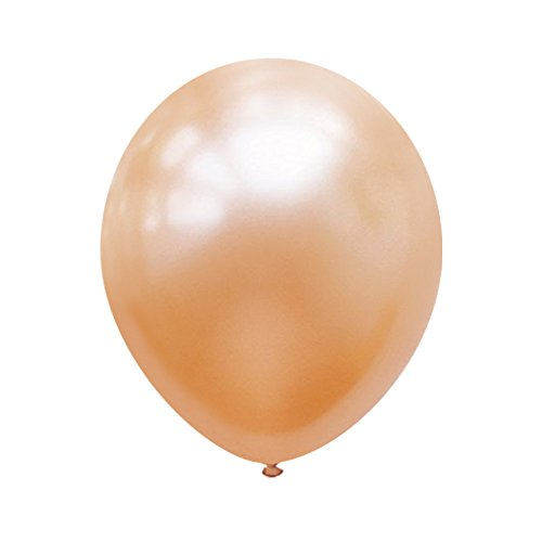 Neo LOONS 5 Pearl Peach Premium Latex Balloons -- Great for Kids , Adult Birthdays, Weddings , Receptions, Baby Showers, Water Fights, or Any Celebration, Pack of 100