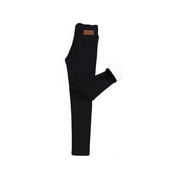 Leggings en Laine De Cachemire épais, Legging Chaud Femme Hiver, Pantalon de Yoga Taille Haute, Pantalons De Leggings…