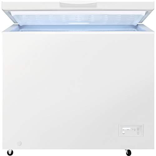 Zanussi ZCAN20FW1 Arcón congelador, Capacidad 198 Litros, 1 cesto, Compresor Inverter, Congelación Rápida, Display LCD…