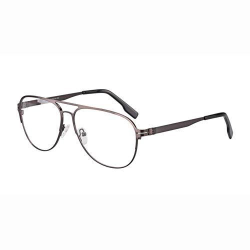 HhL Reading Glasses with Transition Photochromic, aspheric Hard Resin bifocal Lens Outdoor Readers Aviator Sunglasses for UV400 Anti Glare,Silver,+1.5