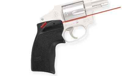 Crimson Trace Defender Series Accu-Grips Red Laser Sight for S&W J-Frame & Taurus Small Fame Revolvers - DS-124