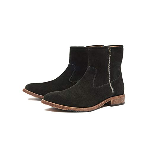 New Republic Terrance Suede Boot - Black