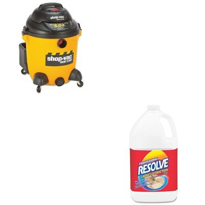 KITRAC97161SHO9625110 - Value Kit - Wet/Dry Vacuum, 12 1/2 Gallon (SHO9625110) and Professional RESOLVE Carpet Extraction Cleaner (RAC97161) Review