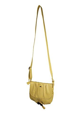 S. Oliver SHOULDER Handbag Borsa a tracolla giallo