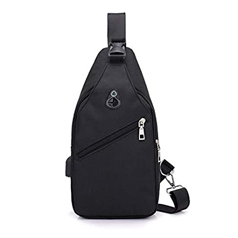 Amazon.com | Mens Crossbody Sling Backpack Anti Theft ...