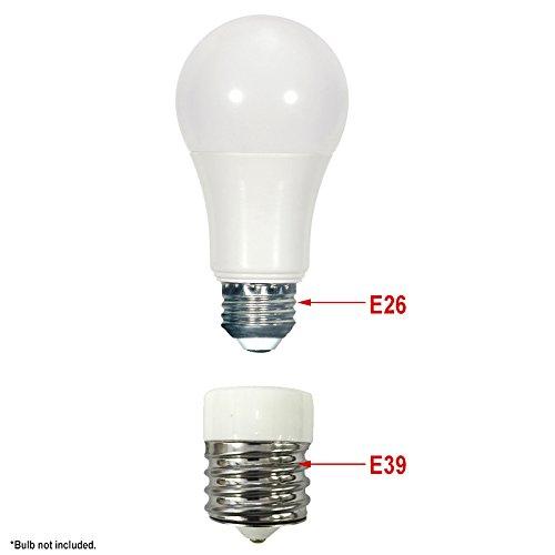Mogul Light Bulb Socket Adapter - standard / medium tomogul base ...