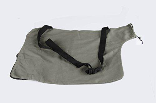 - Zipcse Leaf Blower Vacuum Zippered Bottom Dump Bag for for Ultra Blower Rake & Vacuum Leaf Blowers