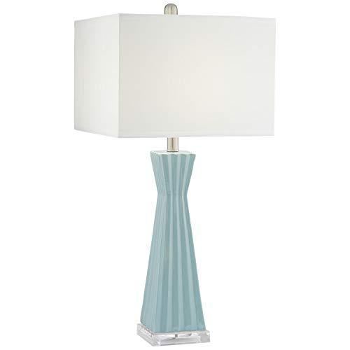 Amazon.com: Neptune - Lámpara de mesa cuadrada de cerámica ...