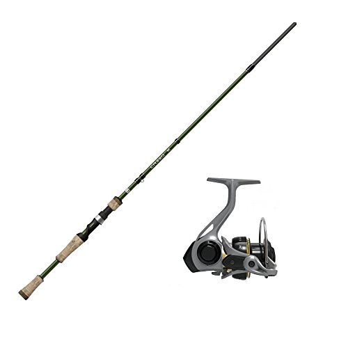 Cheap 13 Fishing One 3 Creed K Combo ML Spinning Rod, 6.6′, Gold