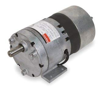 Dayton 1LPN2 AC Parallel Shaft Gear Motor, Degrees_Fahrenheit, to Volts, Amps, (