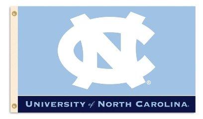 NCAA North Carolina Tarheels/UNC 3'X5' Flag with Grommets