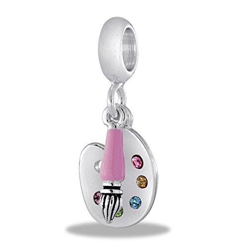 (DaVinci Beads Dangle Paint Pallet Interchangeable Jewelry DB81-14)