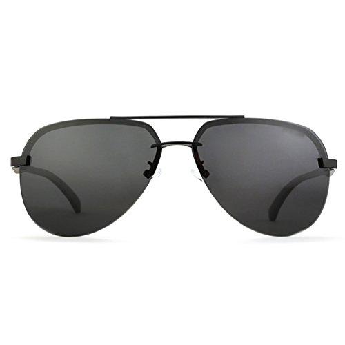 1 bordeGafas Gafas PolarizadasSin Lentes Lvguang Square Casuales Sol Reflexivas Hombre Estilo de Gafas Mujer Vintage wxCCq6tB