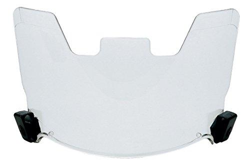 Molded Visor - Clear View Protective Football Helmet Visor Eye Shield Molded Eyeshield Fitsmost