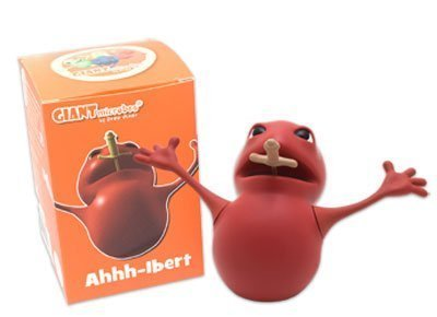 Giant Microbes Ahhh-lbert Vinyl Figure by GIANTmicrobes
