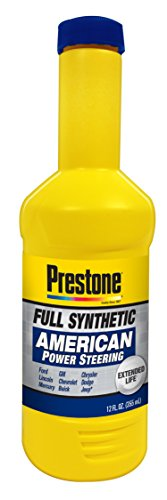 Prestone As264 Full Synthetic Power Steering Fluid For American Vehicles  12 Fl  Oz