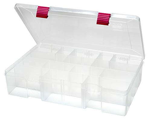 (Creative Options 2-3730-82 Pro-Latch Deep Utility Organizer with 4 to 15 Adjustable Compartments, Large)
