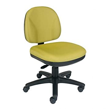 Office Master BC42 Simple Function Task Chair N20 Black Fabric