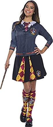 Rubie's Adult Harry Potter Costume Top, Gryffindor, S