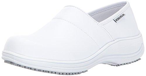 Cherokee Women's Nola Health Care & Food Service Shoe, White, 8.5 M US by Cherokee