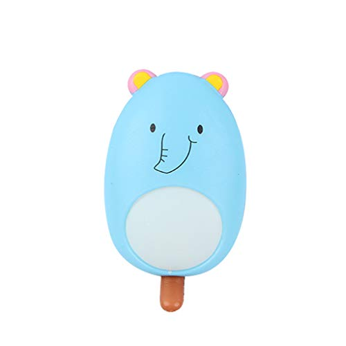NOMENI Mini Adorable Ice-Lolly Slow Rising Kids Stress Reliever Decompression Toy Simulation of Colorful Ice Cream]()