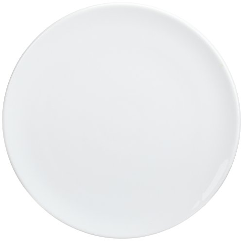 Kitchen Supply 8150 White Porcelain Pizza/Cake Plate 14-Inch Diameter