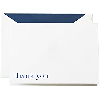 great papers grace thank you note card and envelope 4 875 x 3 375