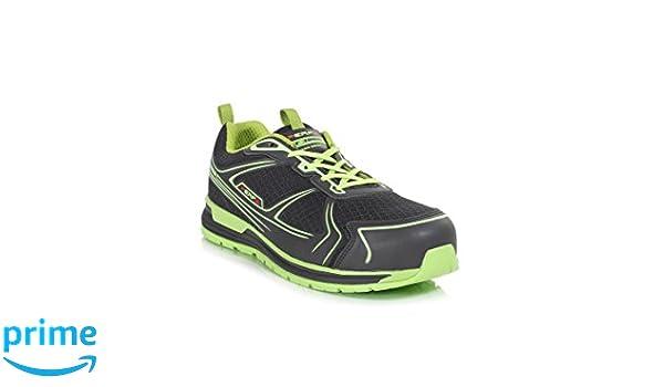 Perf Gravity zero - Ultra ligero Zapatillas de seguridad S1P SRC, negro/verde, UK 6 (EU39), negro/verde, 1: Amazon.es: Industria, empresas y ciencia