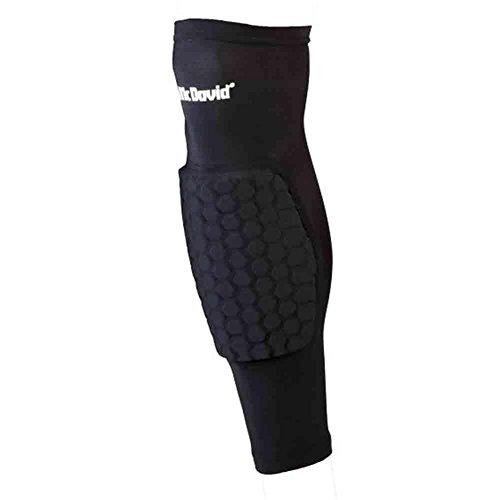 McDavid Classic Logo 6446 CL Hex Leg Sleeves / Pair - Black - X-Large