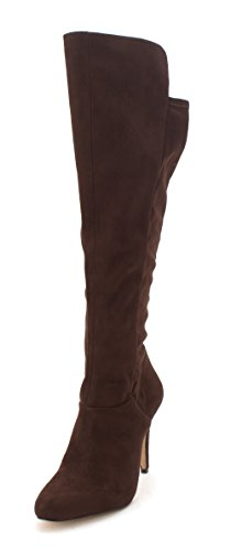 Womens Knee Coco Boots Concepts Fashion Toe Pointed High International Tacy INC Dark qBTEgE