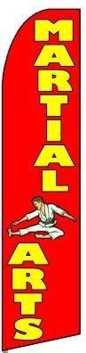 MARTIAL ARTS X-Large Swooper Flag