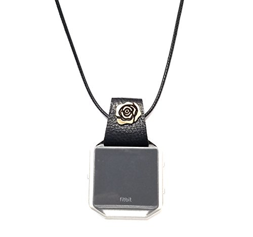 neck strap and connector for fitbit blaze smart watch used as necklace and pendant (not blaze, not matal frame included)