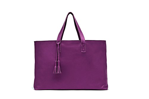 Xanadu (Plum) Designed and made in the USA using Genuine Italian Leathers
