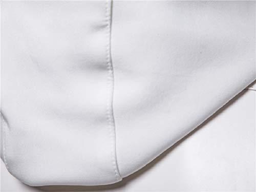 Cerniera Cappotto Del Falso Outwear Energymen Due Rivestimento Cofano Pu In Bianco Moto 7dYqv0z